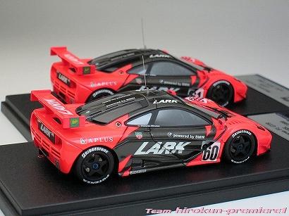 "画像2: LARK Mclaren F1 GTR JGTC1996 #60""13R"" & #61""14R"" 2-cars Set"