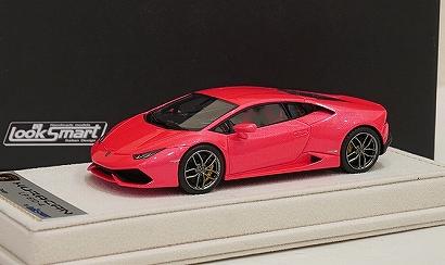 """画像1: *ご注文受付中★海外ショップ特注★ Lamborghini  Huracan LP610-4 """"Met.Pink"""""""