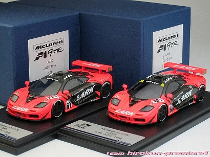 "画像5: LARK Mclaren F1 GTR JGTC1996 #60""13R"" & #61""14R"" 2-cars Set"